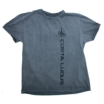 MSM ® x Costa Ludus ® T-Shirt, Distressed Grey - Gr. L