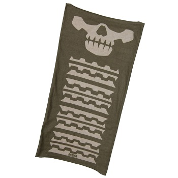 MSM ® Skull Mask Multi Wrap - Dusty Brown