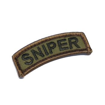 MSM ® Sniper Tab Patch - Forest
