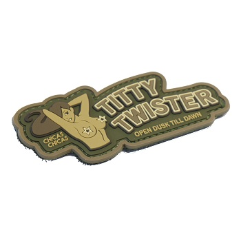 MSM ® Titty Twister PVC Patch - MultiCam