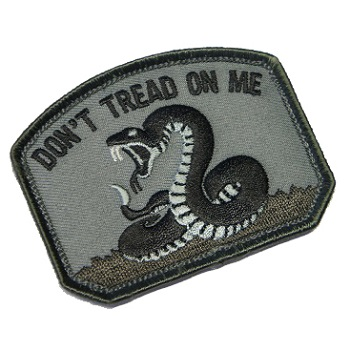 MSM ® Don't Tread Patch - SWAT