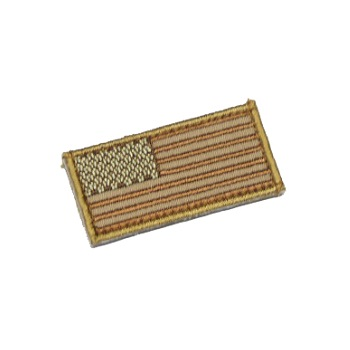MSM ® US Flag Mini Patch - Desert