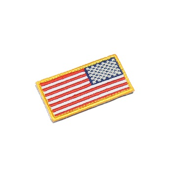 MSM ® US Flag Mini Rev Patch - Color