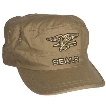 Mil-Tec SEALs Cap, Coyote - Gr. M/L