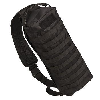 Mil-Tec Sling Bag Tanker Rucksack - Schwarz