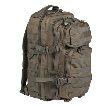 Mil-Tec US Assault Pack Rucksack (20L) - Oliv