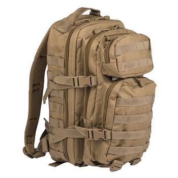 Mil-Tec US Assault Pack Rucksack (20L) - Coyote