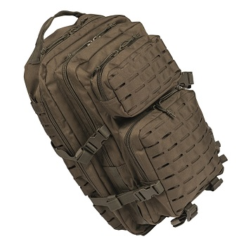 "Mil-Tec US Assault Pack ""Laser Cut"" Rucksack (36L) - Oliv"