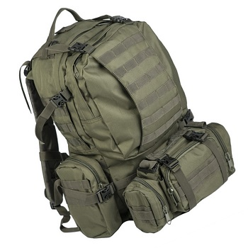 Mil-Tec Defense Pack Assembly Rucksack - Olive
