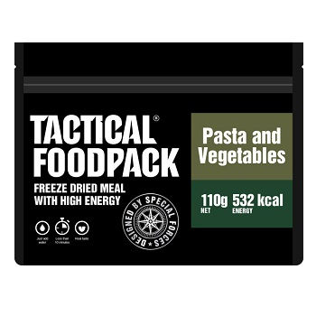 Tactical Foodpack ® Pasta and Vegetables