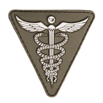 Mil-Tec Medical PVC Patch - Olive