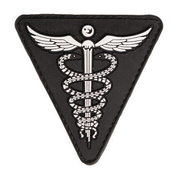 Mil-Tec Medical PVC Patch - Schwarz