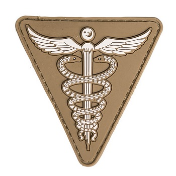 Mil-Tec Medical PVC Patch - Dark Coyote