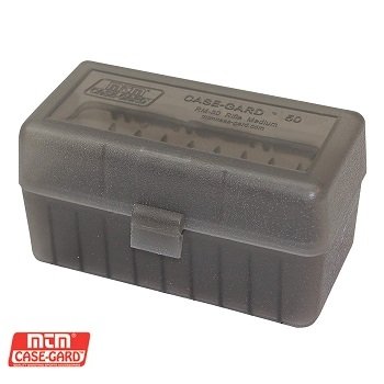 MTM ® Case-Gard Rifle Ammo Box (.308 / 7.62mm) - 50rnd