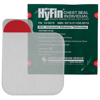 North American Rescue ® HyFin Chest Seal