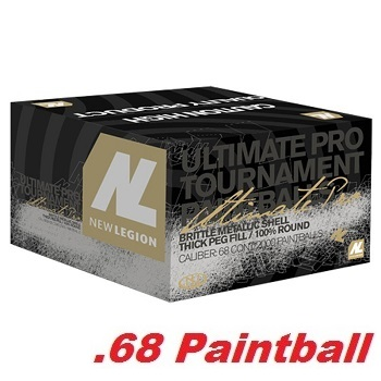 Cal .68 New Legion Tornado Ultimate Pro Paintballs - 2'000rnd
