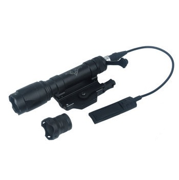 Night Evolution M620C Scout Weapon Light (200 Lumen)  - Black