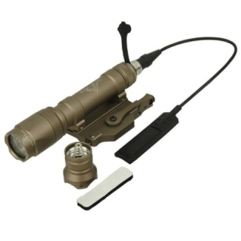 Night Evolution M620C Scout Weapon Light (200 Lumen)  - Dark Earth