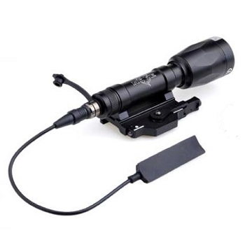 Night Evolution M620P Scout Weapon Light - Black