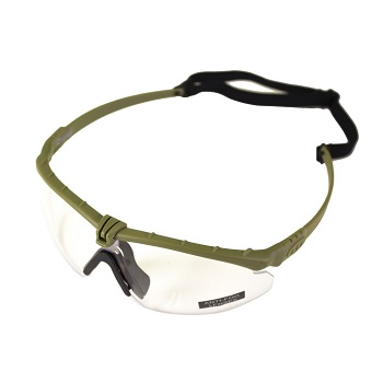 Nuprol Anti-Fog Schutzbrille, Olive - clear