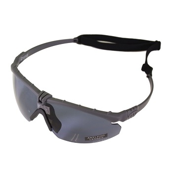 Nuprol Anti-Fog Schutzbrille, Grey - smoke
