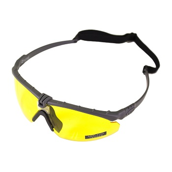 Nuprol Anti-Fog Schutzbrille, Grey - yellow
