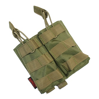Nuprol PMC Double M4 Open Magazine Pouch - Olive