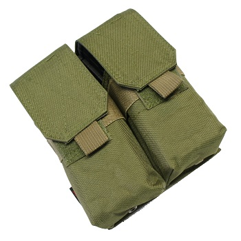 Nuprol PMC Double M4 Magazine Pouch - Olive