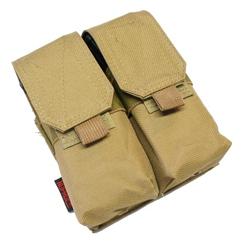 Nuprol PMC Double M4 Magazine Pouch - TAN