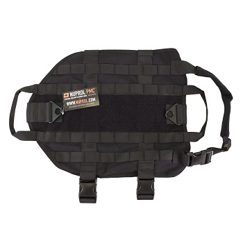 Nuprol Tactical Dog Vest, Black - Gr. M