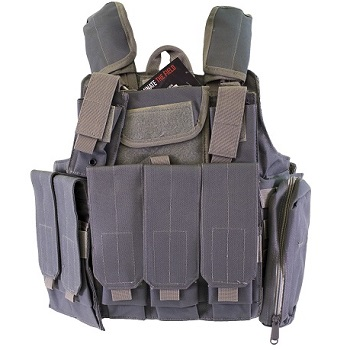 Nuprol PMC Tactical Molle Vest RTG - Grey