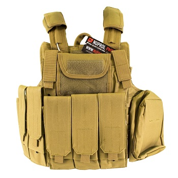 Nuprol PMC Tactical Molle Vest RTG - TAN