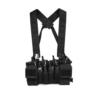 Nuprol Micro B Chest Rig - Black