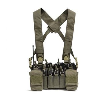 Nuprol Micro B Chest Rig - Olive