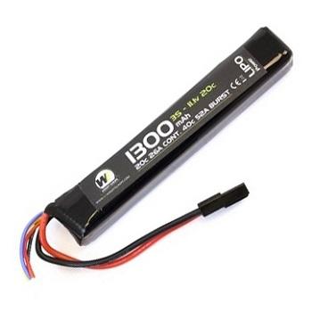 Nuprol 11.1v LiPo 1300mAh 20C Stick-Type Akku