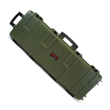 Nuprol Large Hard Case (Wave Foam) Gewehrkoffer - Olive