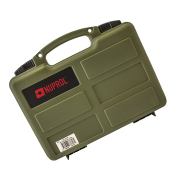 Nuprol Small Hard Case (Wave Foam) - Olive