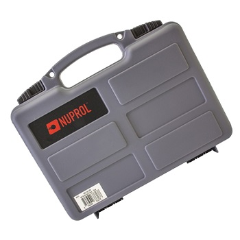 Nuprol Small Hard Case (PnP Foam) Koffer - Grey