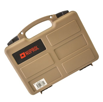 Nuprol Small Hard Case (Wave Foam) - Desert