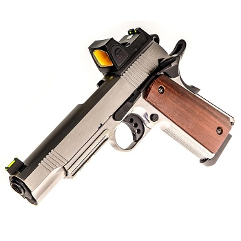 Raven M1911 M.E.U. Railed RMR GBB - Brushed Alu