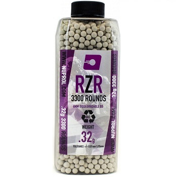 Nuprol RZR 0.32g Precision Bio BBs - 3'300rnd