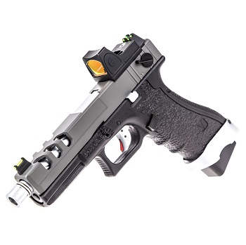 Vorsk P18C Vented & RMR Sight GBB - Grey/Black