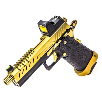 Vorsk HiCapa 4.3 Vented & RMR Sight GBB - Gold/Black