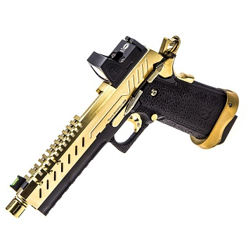 Vorsk HiCapa 5.1 Vented & RMR Sight GBB - Gold/Black