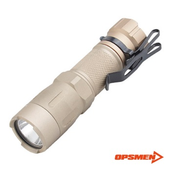 OPSMEN ® FAST 301 Tactical LED FlashLight (450 Lumen) - TAN