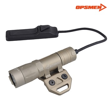 "OPSMEN ® FAST 301 M Tactical LED FlashLight ""M-LOK"" - TAN"