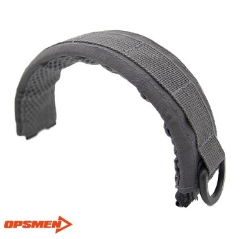 OPSMEN ® EARMOR Advanced Modular Headset Cover - Wolf Grey