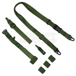 PANTAC Tactical 3-Point Sling (with Fixed-Stock Adaptor) - Olive