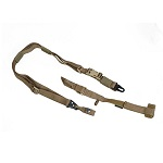PANTAC Tactical 3-Point Sling (with Fixed-Stock Adaptor) - TAN