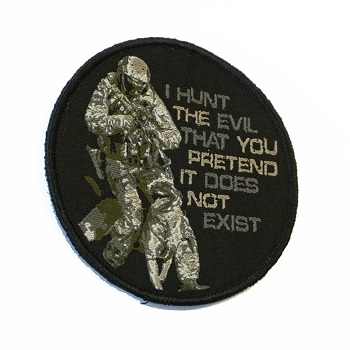 "Patchzone ® ""K9 - I hunt the Evil\"" Patch *Limited Edition*"
